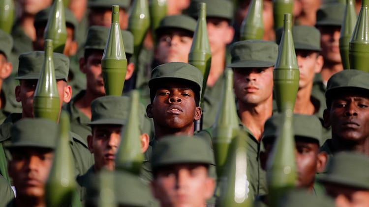 Cuba anuncia ejercicios militares en todo el país