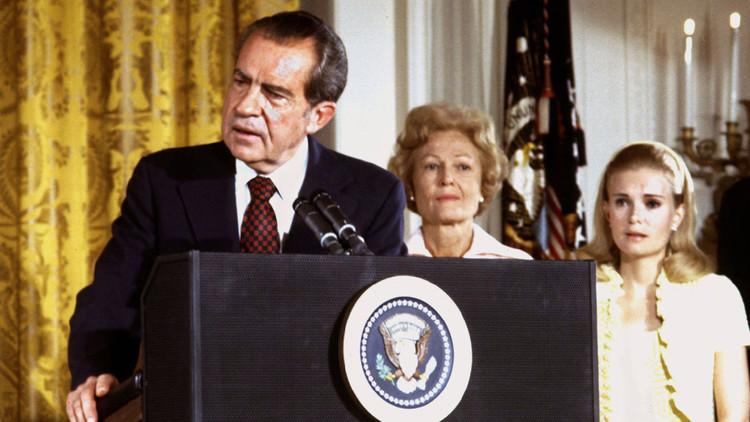 El expresidente Nixon escribió en 1987 una carta a Trump diciéndole que ganaría las elecciones