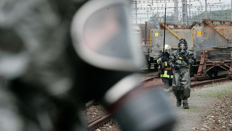 Descarrila un tren con productos químicos en Francia (FOTO)
