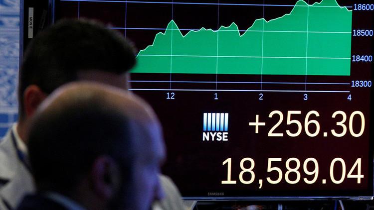Dow Jones registra una subida histórica tras la victoria de Trump