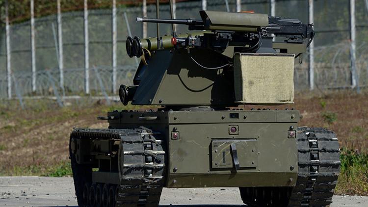 Rusia prueba un robot-centinela armado para sus silos de misiles estratégicos