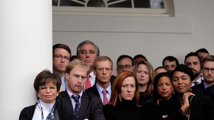Las fotos del equipo de Obama durante su discurso de felicitación a Trump arrasan en la Red