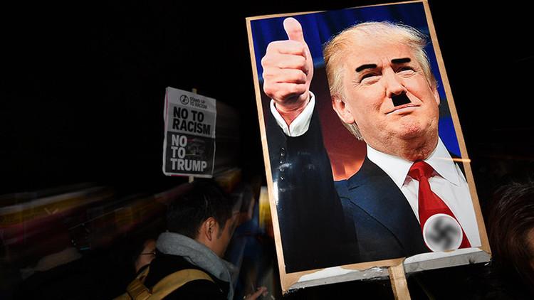 """""""Haz EE.UU. blanco de nuevo"""": se expande el vandalismo racista tras la victoria de Trump (fotos)"""
