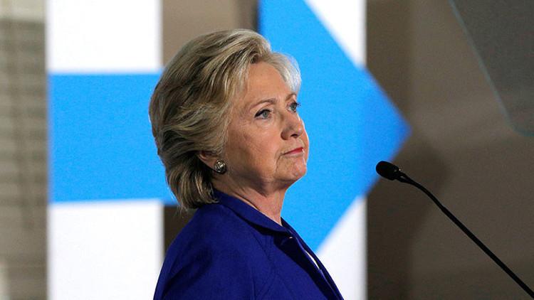 Foto: Descubren a Hillary Clinton en un bosque tras su derrota ante Trump