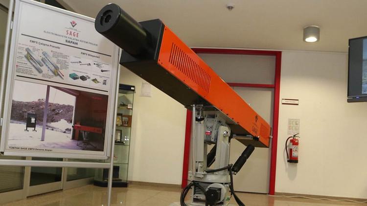 Turquía desarrolla su primer cañón electromagnético (fotos)