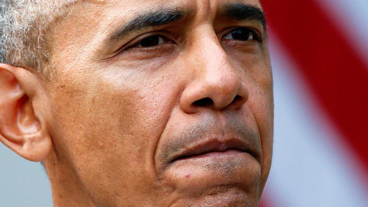 """""""Adiós, asesino"""": Así despiden a Obama cerca del Pentágono (Fotos)"""