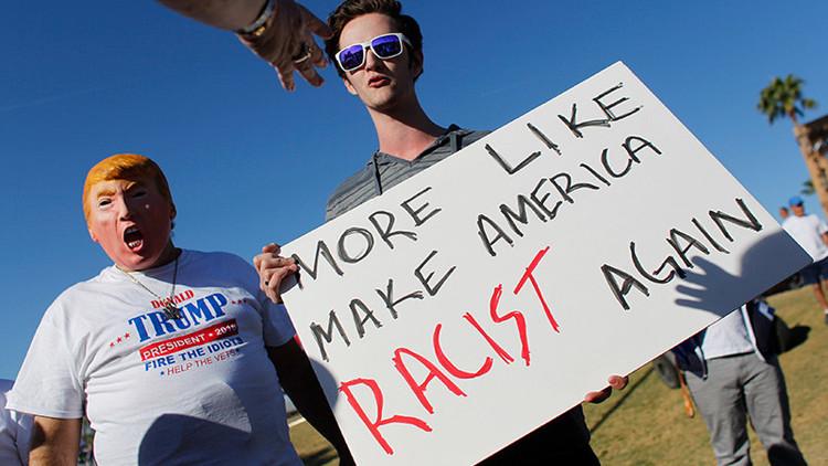 ¿El efecto Trump?: denuncian en las redes escalofriantes casos de racismo