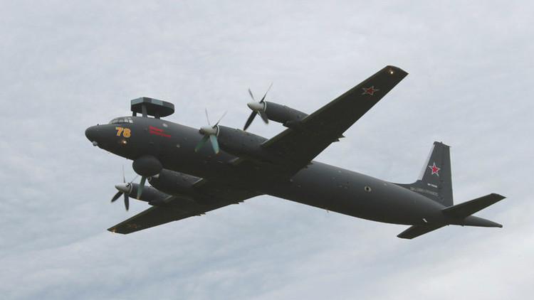 Imágenes del modernizado avión militar ruso Il-38N se filtran a Internet