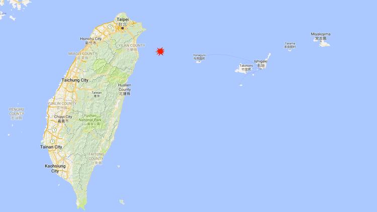 Sismo de magnitud 5,1 en Taiwán