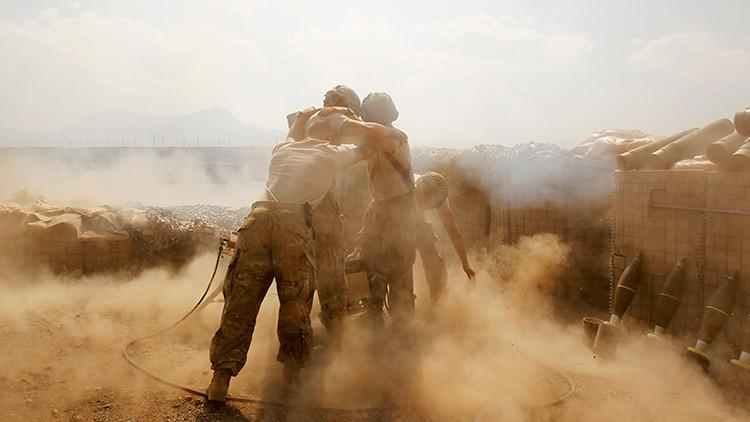 Una fuerte explosión en la mayor base de EE.UU. en Afganistán