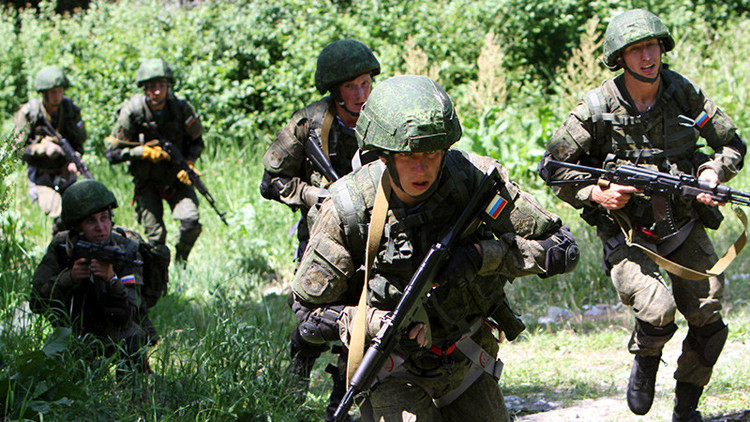 """Putin: """"El Ejército ruso no amenaza a nadie"""""""