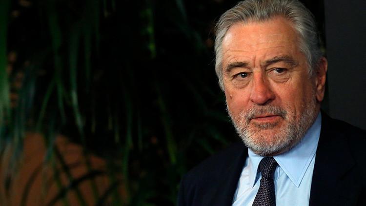 """Robert De Niro sobre Trump: """"No puedo golpearlo, ahora es el presidente, podría mudarme a Italia"""""""