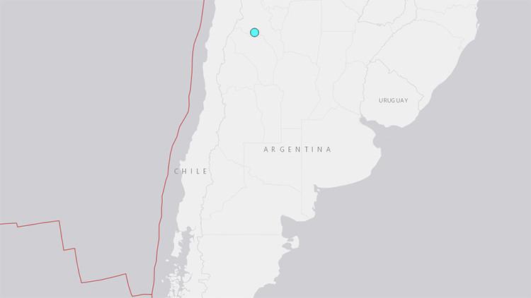 Un fuerte terremoto sacude el norte de Argentina