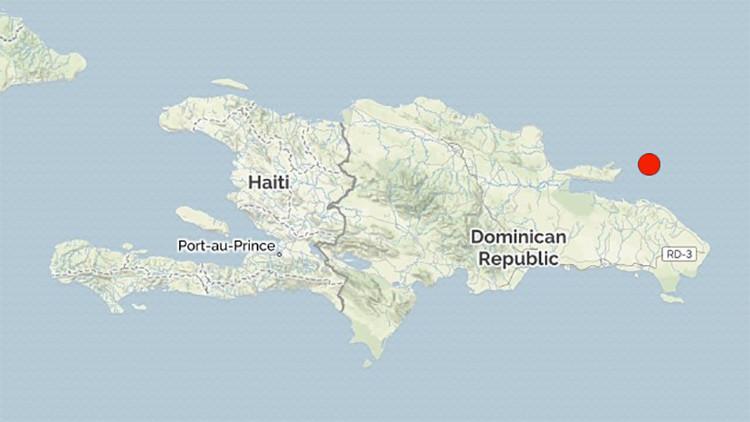 Un sismo de 4,8 se registra en República Dominicana