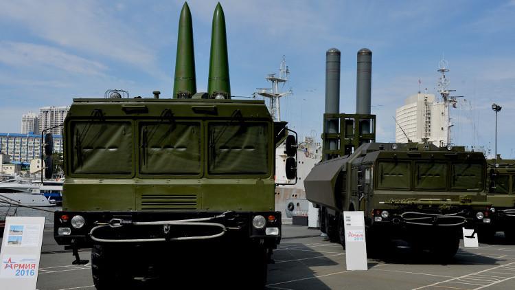 El centro de Rusia se arma con los novedosos sistemas de misiles Iskander-M
