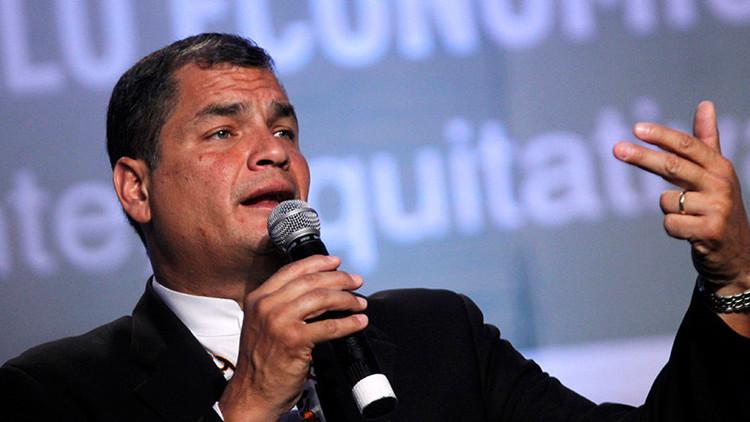 ¿Qué consejo dio Rafael Correa al nuevo presidente de EE.UU.?