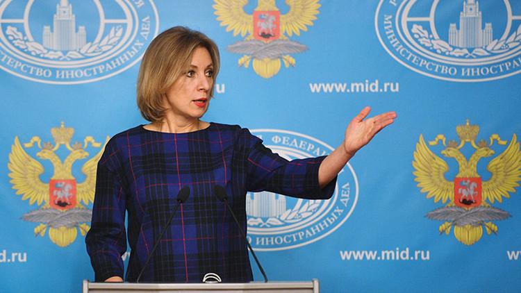 """¿Quién nos mantendrá?"": Zajárova traduce el mensaje de la OTAN a Trump a un lenguaje ""comprensible"""