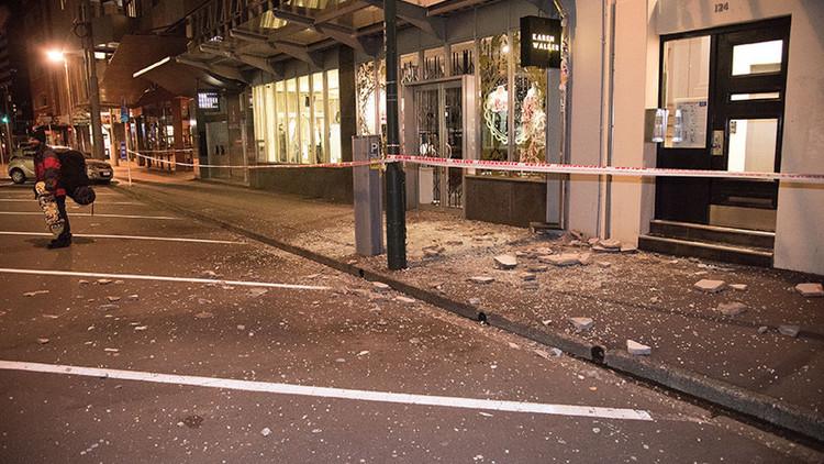 Al menos dos muertos en el terremoto de Nueva Zelanda de magnitud 7,9