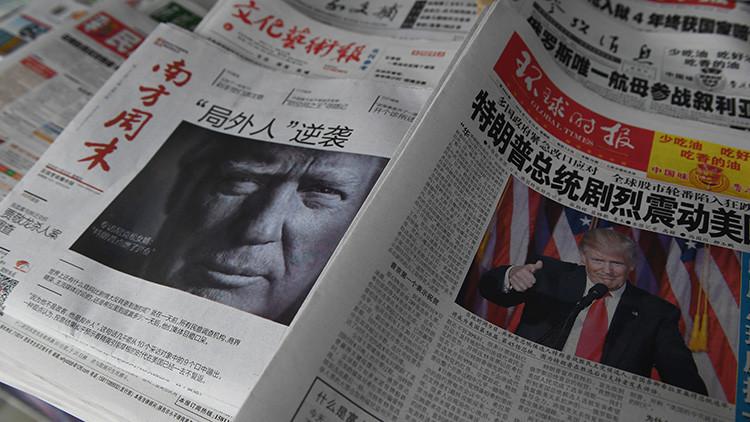 """""""Será condenado por su imprudencia"""": así responde China a las amenazas de Trump"""