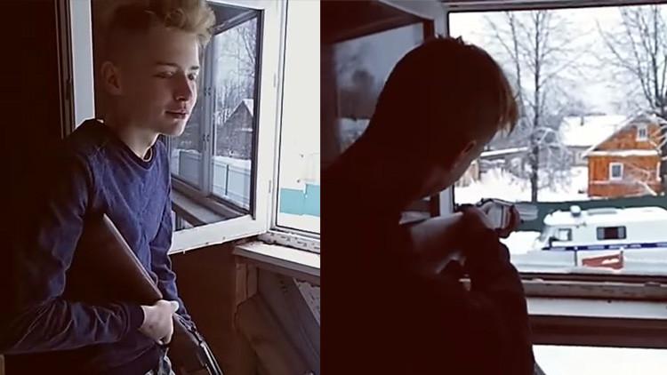 Adolescentes transmiten en vivo tiroteo con la policía