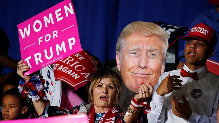 Las tres mujeres que consiguieron la victoria de Trump