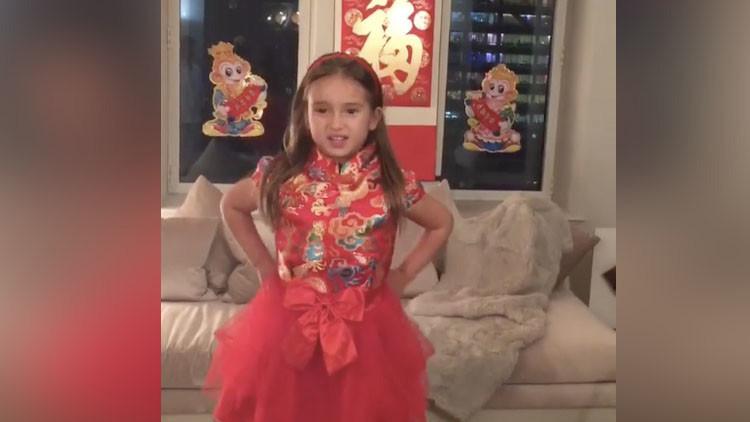 VIDEO: La nieta de Trump se gana los corazones de los chinos recitando poesía en mandarín