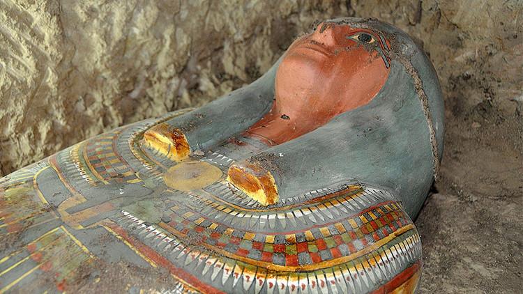 """Descubren en Egipto una momia de 3.000 años en """"muy buenas condiciones"""""""