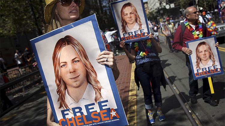Chelsea Manning pide clemencia a Obama tras 6 años de encarcelamiento