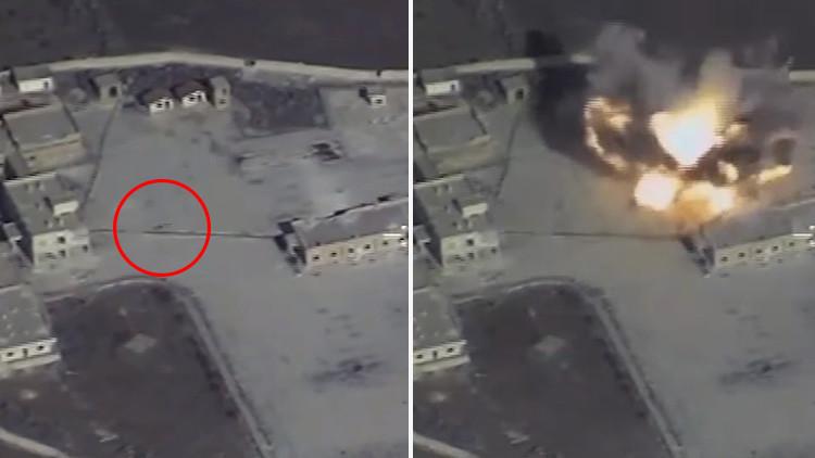 VIDEO: Así destruye Rusia con misiles de crucero infraestructura terrorista en Siria
