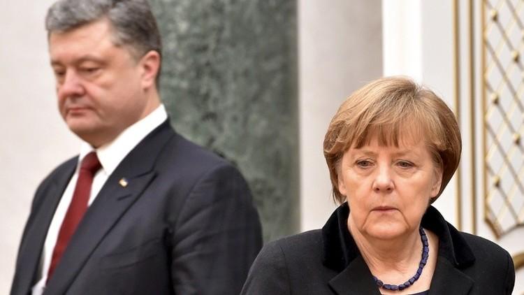 Putin advierte a Merkel de los riesgos que conlleva el tránsito del gas por Ucrania