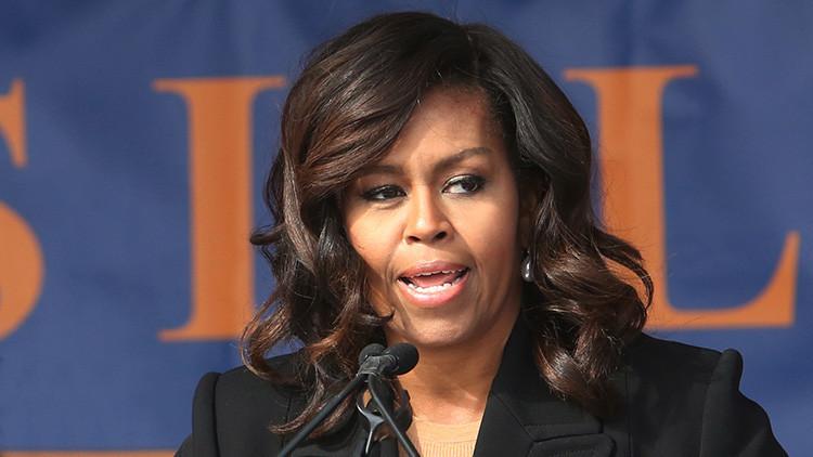 Michelle Obama, primera dama saliente de EE.UU.