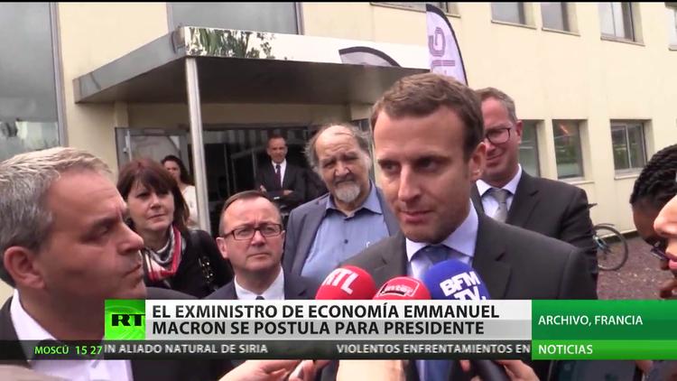 El ex ministro de Economía de Francia aspirará a presidir su país