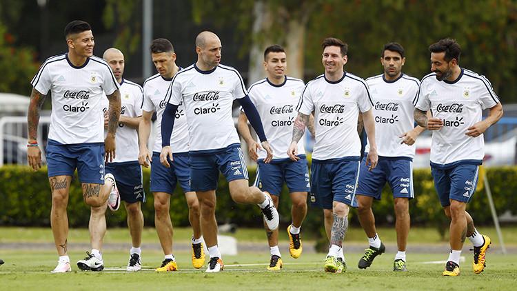 Video: Messi encabeza el boicot de la selección argentina a la prensa nacional