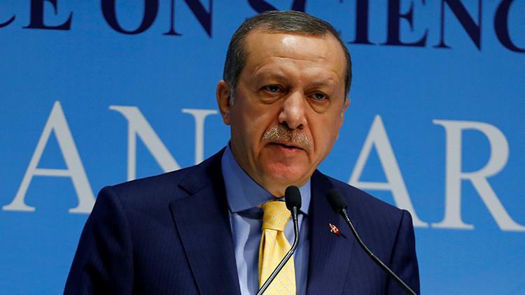 El presidente de Turquía, Recep Tayyip Erdogan, durante una reunión en Ankara, Turquía, el 3 de octubre de 2016.