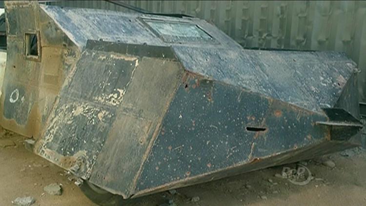 El vehículo tipo 'Mad Max' incautado al EI que podría ser crucial en la lucha contra los terroristas