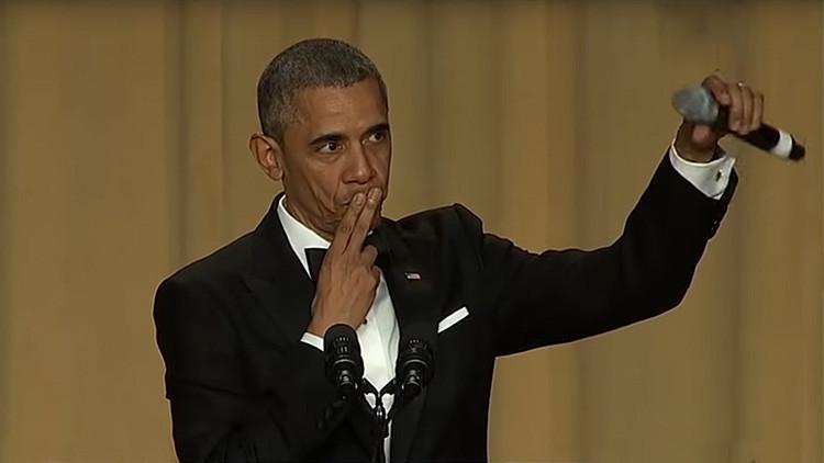 """""""Voy a echar mucho de menos a Obama"""": Una niña llora por el fin del mandato del presidente"""