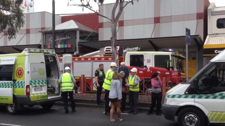 Australia: Un hombre se prende fuego y deja al menos 21 heridos en un banco