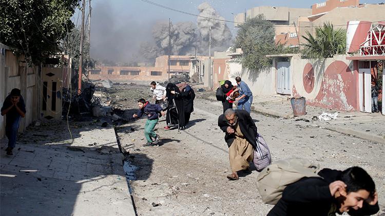 Hallan en Mosul una fosa con cientos de policías asesinados y decapitados por el Estado Islámico