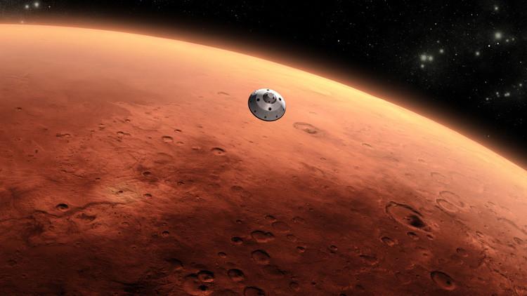 Foto: ¿El Rey de Marte o una simple roca?