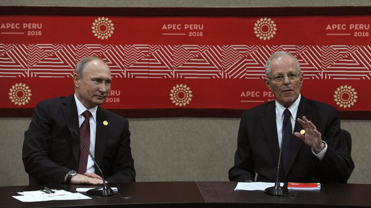 ¿En qué idioma hablamos? Putin y Kuczynski protagonizan un divertido diálogo (VIDEO)