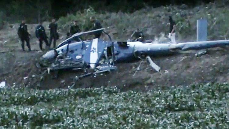 Cae un helicóptero en Río de Janeiro: 4 policías muertos (Video)