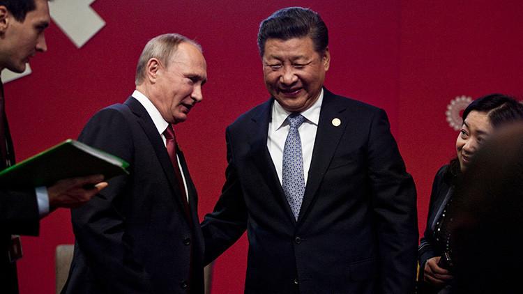 Rusia y China se comprometen a promover una zona de libre comercio en la región de Asia Pacífico