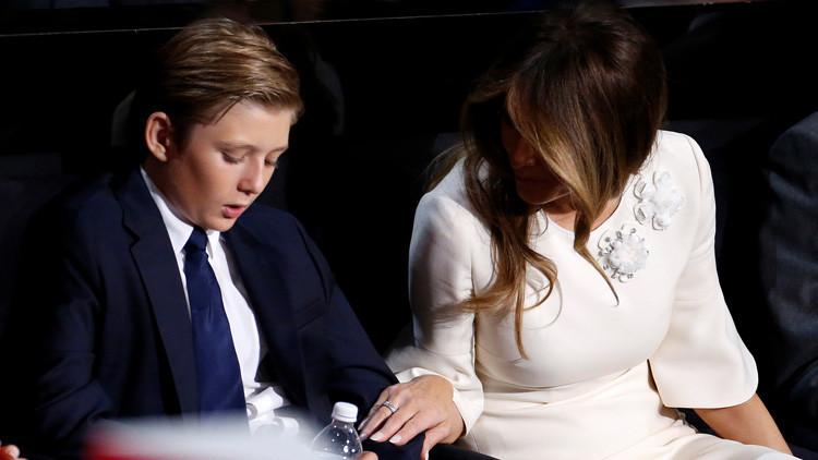 El motivo por el que Melania Trump y su hijo no se mudarán a la Casa Blanca