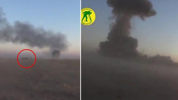 VIDEO: Un coche bomba del EI explota metros antes de alcanzar las milicias iraquíes