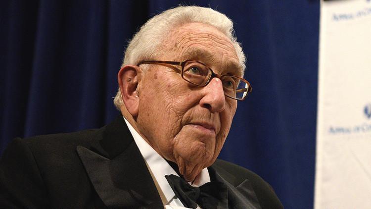 """Henry Kissinger: """"Trump es el presidente electo más genuino que he visto"""""""
