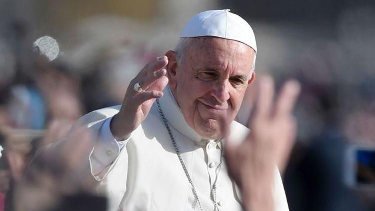 El Papa Francisco, durante la celebración del final del año jubileo.