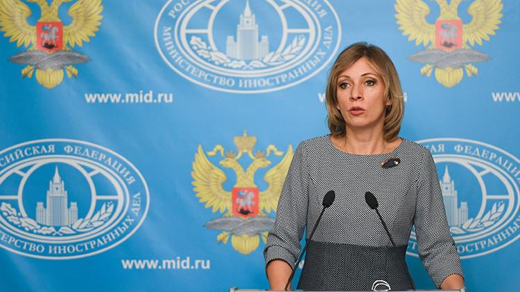 """María Zajárova sobre el diálogo entre dirigentes de la Agencia Mundial Antidopaje: """"¡Es tan sucio!"""""""