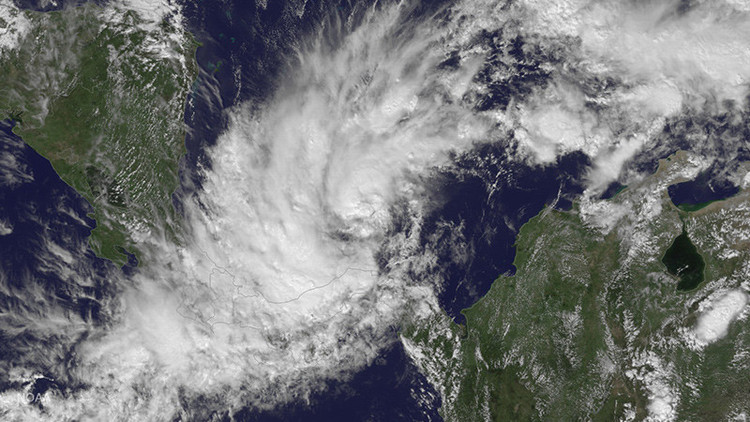 Alerta amarilla en Nicaragua y Costa Rica: tormenta Otto podría convertirse en huracán