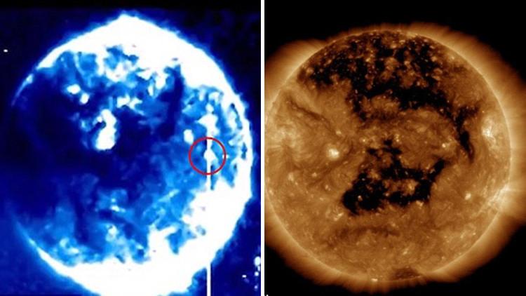 La NASA explica el origen de una extraña esfera azul cerca del Sol