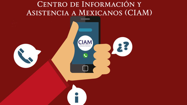 México activa línea telefónica para migrantes ante amenazas de deportaciones de Trump